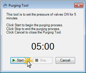 Purging Tool Wizard